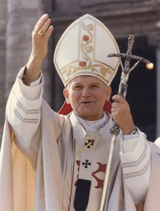 POPE JOHN PAUL II AT VATICAN IN 1978