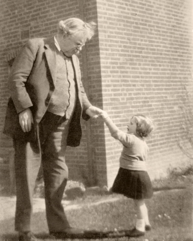 G.K. Chesterton on the role of the father as head of the house
