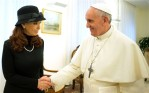 Pope-Francis with Argentine President